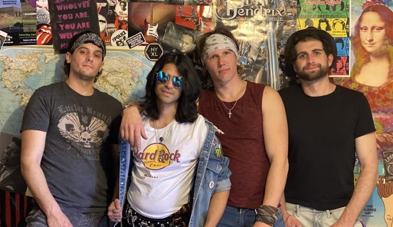 Lÿnx New Retro Rock Music Video for 'Crazy Crazy World'