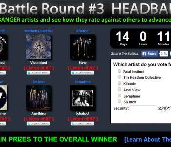 The Headbangers Battle Has Begun!