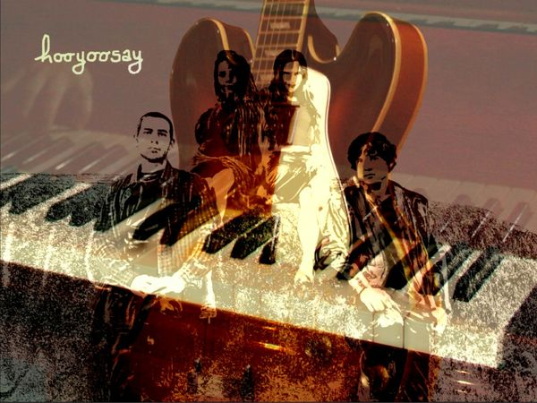 hooyoosay New Pop Rock EP 'Strange, Elusive You'