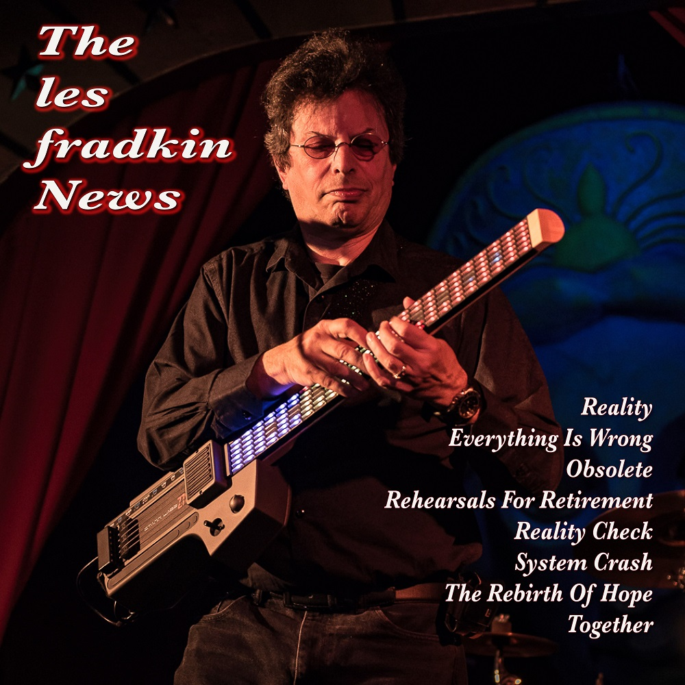 Producer & Composer Les Fradkin New Album 'The Les Fradkin News'